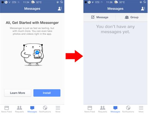 facebook layout free without downloading how to send facebook messages without using messenger app