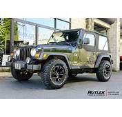 Jeep Wrangler With 15in Fuel Vapor Wheels Exclusively From