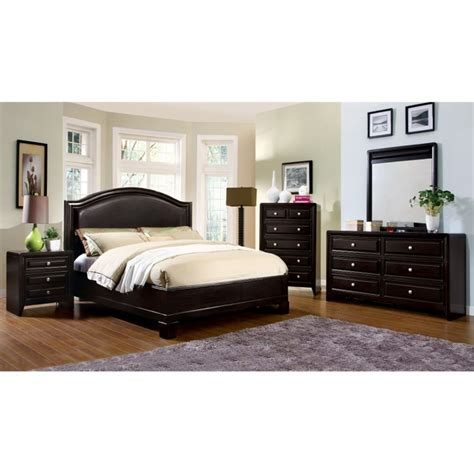 4 piece bedroom furniture sets furniture of america basonne 4 piece queen bedroom set in
