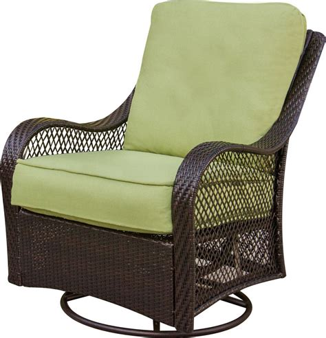 patio set with swivel chairs hanover orleans 4 outdoor conversation set with