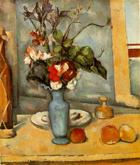 Paul Cezanne The Blue Vase webmuseum c 233 zanne paul the blue vase