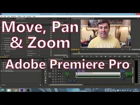 adobe premiere pro zoom out how to move pan zoom in adobe premiere pro cc 7 2 2