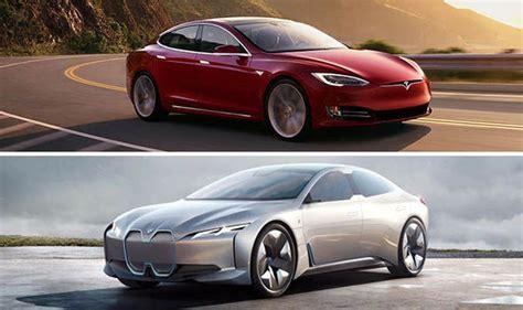 tesla roadster concept electric car comparison tesla model s vs bmw i vision