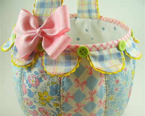 Pattern For Fabric Easter Basket | easter basket bumbleberries boutique