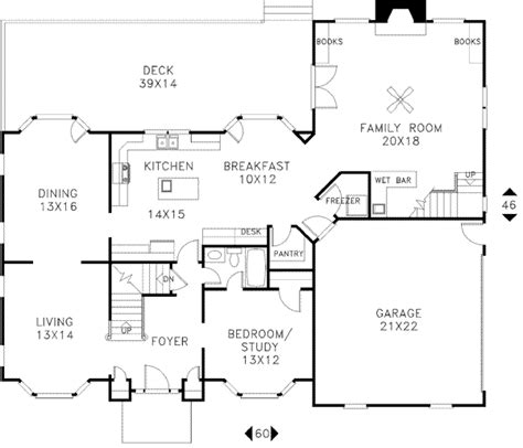 56 sq ft european style house plan 5 beds 4 baths 3260 sq ft plan