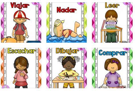 imagenes en ingles de los verbos divertidas l 193 minas para trabajar los verbos orientacion
