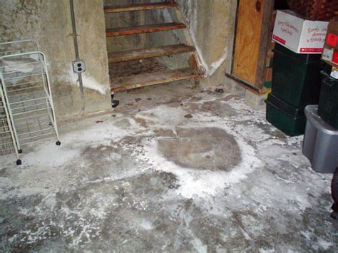 what causes leaky floors in basements fixing leaking