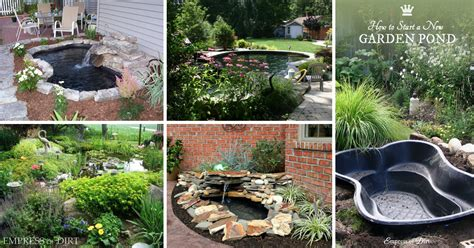 20 Innovative Diy Pond Ideas Letting You Build A Water Diy Backyard Pond Ideas