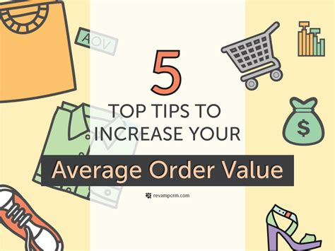 5 top tips to increase your average order value