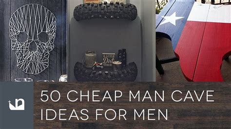 How To Decorate Home Cheap Man Cave Ideas Cheap Unac Co