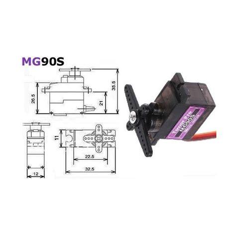 Tower Pro Mg90s Micro Servo towerpro mg90s metal geared micro servo for rc car boat