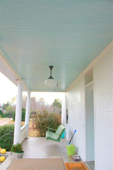 Blue Ceiling Best 25 Blue Porch Ceiling Ideas On Porch