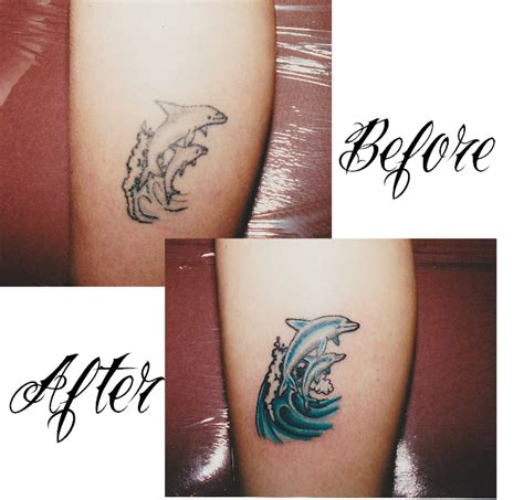 tattoo on arm after weight loss lucky 7 tattoo and piercing so long dolphins tribal arm
