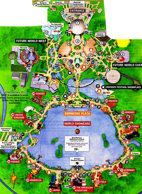 map of epcot epcot vacation pictures disney world live suchart family disneyworld vacation pictures suchart
