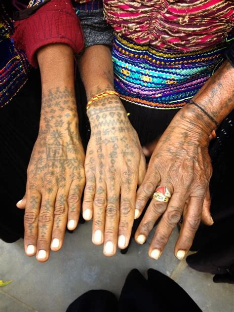 tattoo history in nepal the women from the dhebaria rabari community carry many