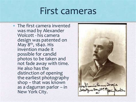 first camera ever made history of photography