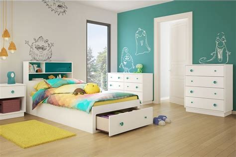 kid bedroom paint ideas room white and grayish turquoise paint color