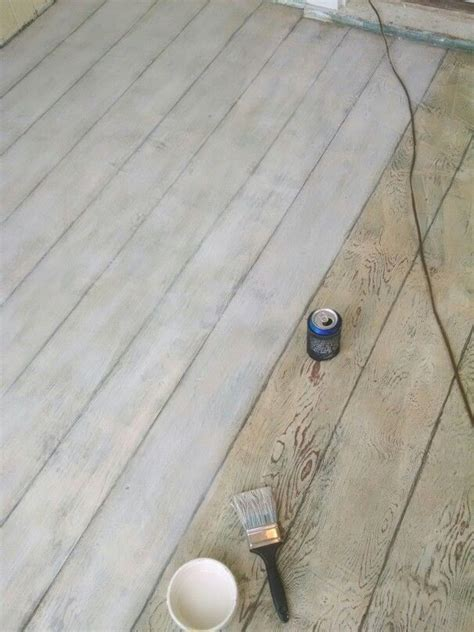 Chalk Paint Wood Floors by 1000 Ideas About Plywood Floors On Stained