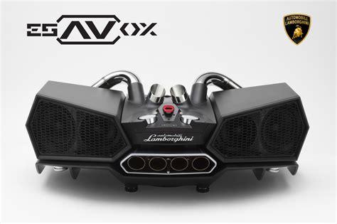 Lamborghini Esavox ixoost lamborghini esavox soundbar inside sim racing