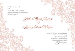 wedding invitation designs templates stirring printable wedding invitation templates