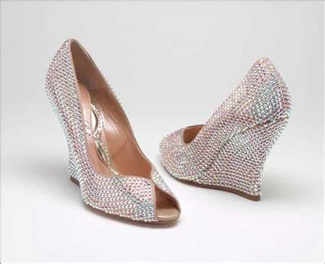 Sparkly Bridal Shoes by The Most Sparkly Bridal Shoes