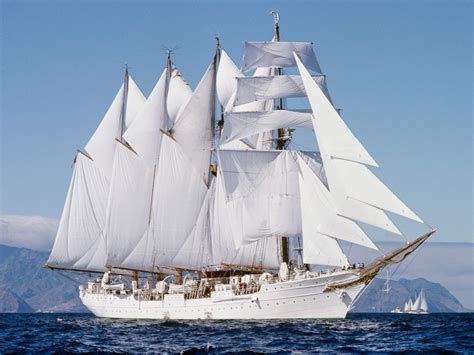 big boat sailing big sailing boat free wallpaper world