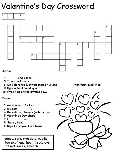 s day puzzle crossword puzzle pictures to pin on