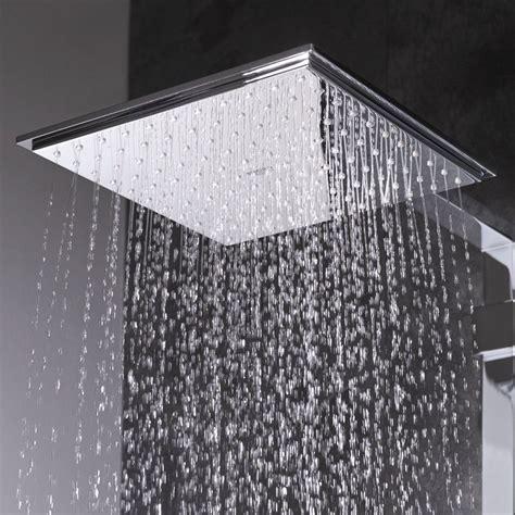 Rainshower Duschkopf by Grohe Euphoria Cube 150 Square Shower Chrome New