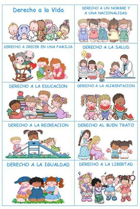 los nios de egb preescolares derechos y deberes de los ni 241 os mi casa best ideas para ideas