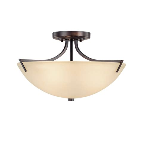 3 Light Semi Flush Mount Ceiling Fixture Traditional Classic 3 Light Semi Flush Mount Ceiling Fixture 4037bb Elite Fixtures