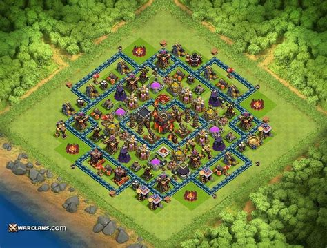 defensive war base for th10 hdv 10
