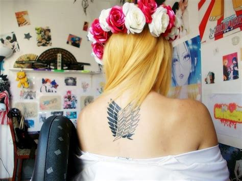 wings of freedom tattoo attack on titan wings of freedom tats piercings