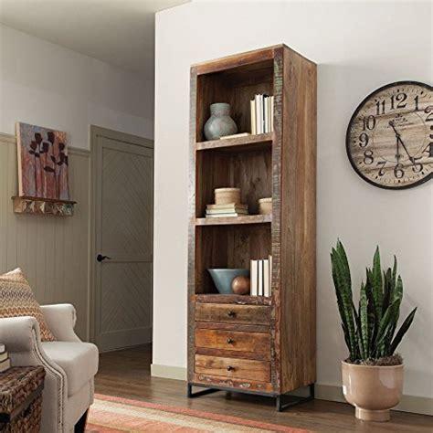 coaster 800819 home furnishings bookcase reclaimed wood