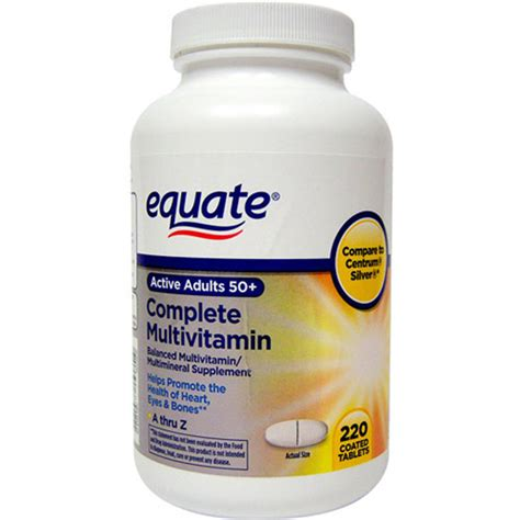 vitamin k supplement walmart equate multivitamin a thru z adults 50 tablets