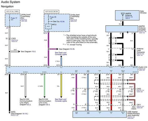 2014 ex l speaker wiring diagram honda pilot honda
