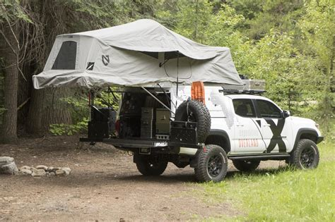 Awning For Camper Featured Vehicle Expedition Overland S Toyota Tacoma