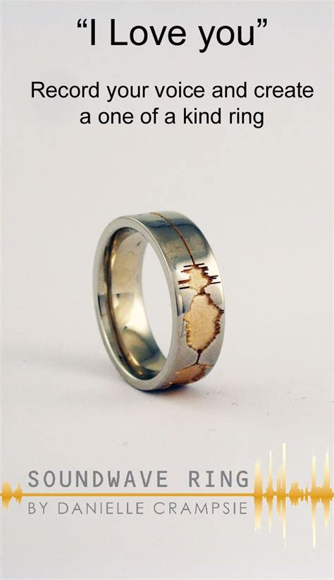 Wedding Vows Rings by 111 Best Custom Soundwave Wedding Engagement Rings