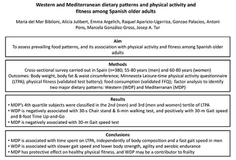pattern in spanish definition nutrients free full text western and mediterranean