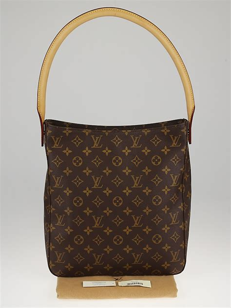 louis vuitton monogram canvas looping gm bag yoogis closet