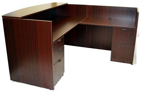 reception desk side view from better office furniture in