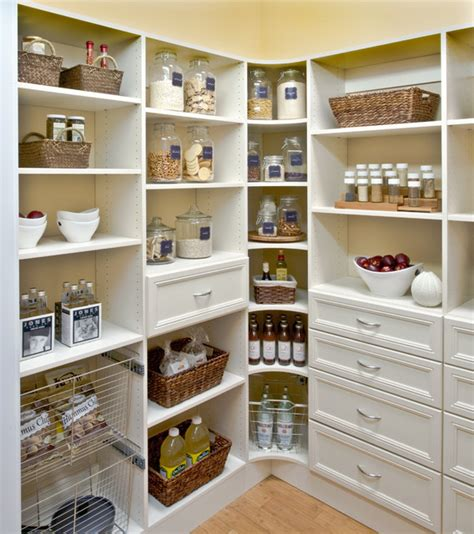 Designs For L Shaped Kitchen Layouts by Organized Pantry Shelving Cincinnati By Organized Living
