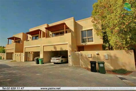 four bedroom townhomes al raha gardens 4 bedroom townhouse type s