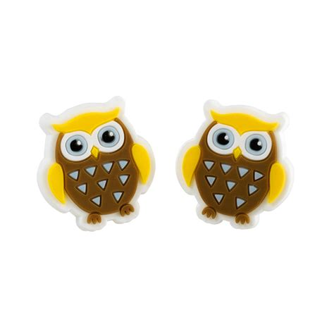 owl item brownie owl earrings brownie gifts and fun badges