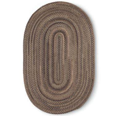 Braided Wool Rug Colonial Mills 174 Greenbrier Reversible Braided Wool Oval