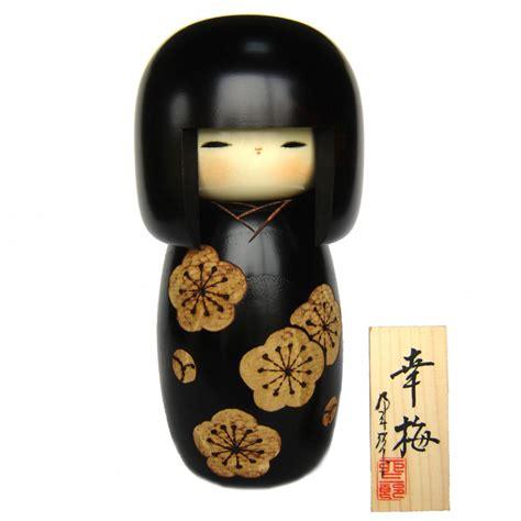 Japan Handmade - japanese doll wooden kokeshi handmade in japan koubai
