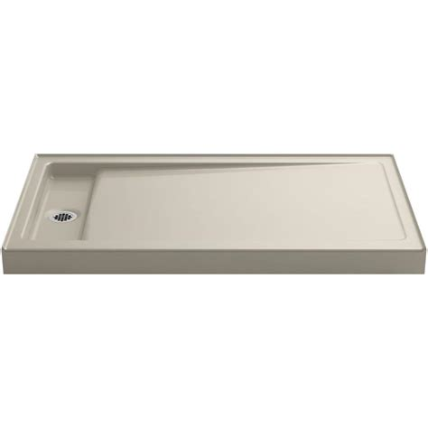 Kohler Bellwether Shower Base by Kohler Bellwether 60 In X 34 In Single Threshold Shower