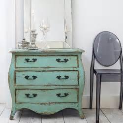 Shabby chic green dresser