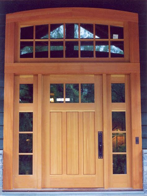 Exterior Doors With Sidelights And Transoms Custom Entry Door With Sidelights And Transom
