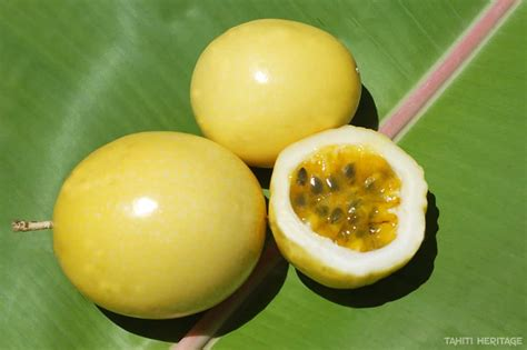 fruit de la fruit de la et passiflore tahiti heritage