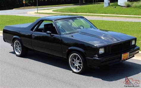 the black el camino 1980 chevrolet el camino